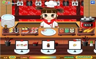 Play-kitchen-serving-sushi
