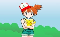 Pokemon-cluiche-guna-guna-misty-up